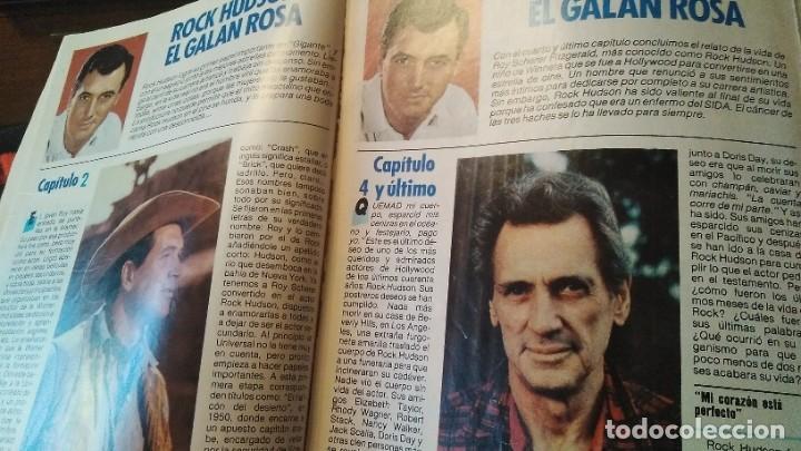 Coleccionismo de Revista Pronto: REVISTA PRONTO 703 SUSANA ESTRADA, ISABEL PANTOJA, MIGUEL BOSÉ, MUERTE ROCK HUDSON AÑO 1985 - Foto 3 - 189307526