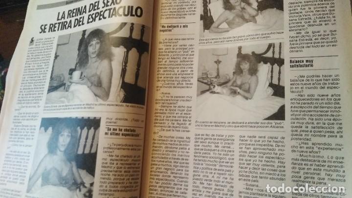 Coleccionismo de Revista Pronto: REVISTA PRONTO 703 SUSANA ESTRADA, ISABEL PANTOJA, MIGUEL BOSÉ, MUERTE ROCK HUDSON AÑO 1985 - Foto 7 - 189307526