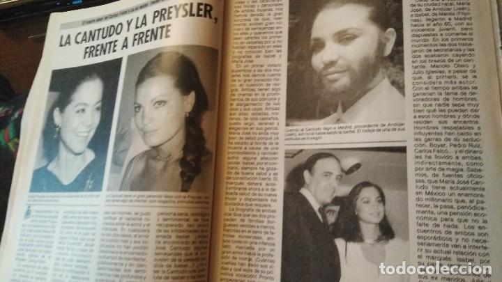 Coleccionismo de Revista Pronto: REVISTA PRONTO 703 SUSANA ESTRADA, ISABEL PANTOJA, MIGUEL BOSÉ, MUERTE ROCK HUDSON AÑO 1985 - Foto 8 - 189307526