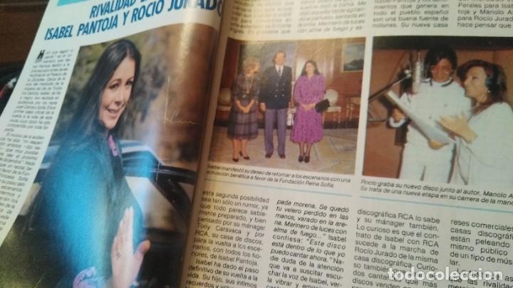 Coleccionismo de Revista Pronto: REVISTA PRONTO 706 ISABEL PANTOJA, ROCÍO JURADO, EL VAQUILLA, DOCTOR ROSADO AÑO 1985 - Foto 3 - 189307546