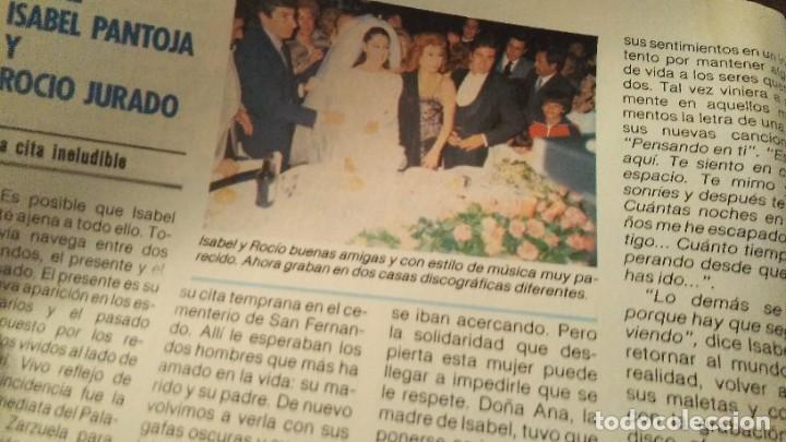 Coleccionismo de Revista Pronto: REVISTA PRONTO 706 ISABEL PANTOJA, ROCÍO JURADO, EL VAQUILLA, DOCTOR ROSADO AÑO 1985 - Foto 4 - 189307546