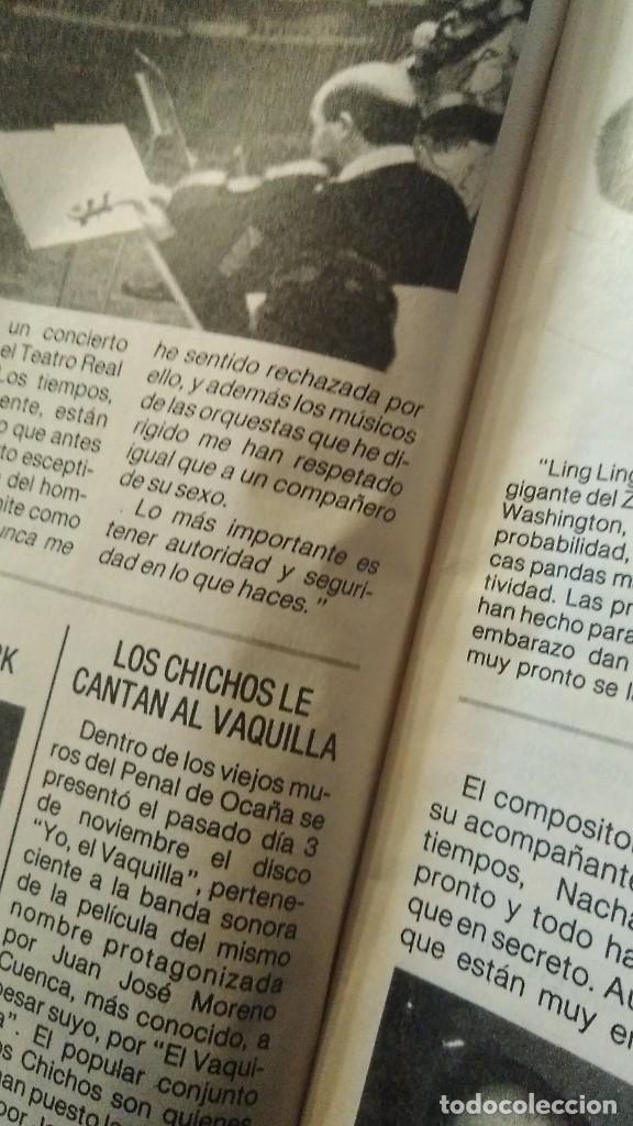 Coleccionismo de Revista Pronto: REVISTA PRONTO 706 ISABEL PANTOJA, ROCÍO JURADO, EL VAQUILLA, DOCTOR ROSADO AÑO 1985 - Foto 5 - 189307546