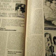 Coleccionismo de Revista Pronto: REVISTA PRONTO 845 MADONNA, EL CORDOBÉS AÑO 1988. Lote 189522940