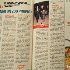 Coleccionismo de Revista Pronto: REVISTA PRONTO 901 AÑO 1989 OLVIDO GARA, ALASKA, PALOMA SAN BASILIO. Lote 189525545