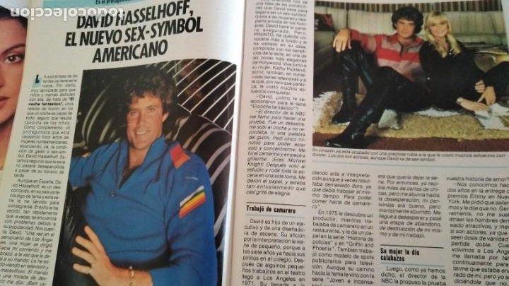 REVISTA PRONTO 693 AÑO 1985 DAVID HASSELHOFF EL COCHE FANTÁSTICO, 5 PAG EL PLATANITO (Papel - Revistas y Periódicos Modernos (a partir de 1.940) - Revista Pronto)