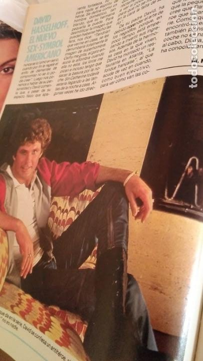 Coleccionismo de Revista Pronto: REVISTA PRONTO 693 AÑO 1985 DAVID HASSELHOFF EL COCHE FANTÁSTICO, 5 pag EL PLATANITO - Foto 2 - 189630243