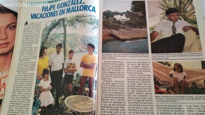 Coleccionismo de Revista Pronto: REVISTA PRONTO 693 AÑO 1985 DAVID HASSELHOFF EL COCHE FANTÁSTICO, 5 pag EL PLATANITO - Foto 4 - 189630243