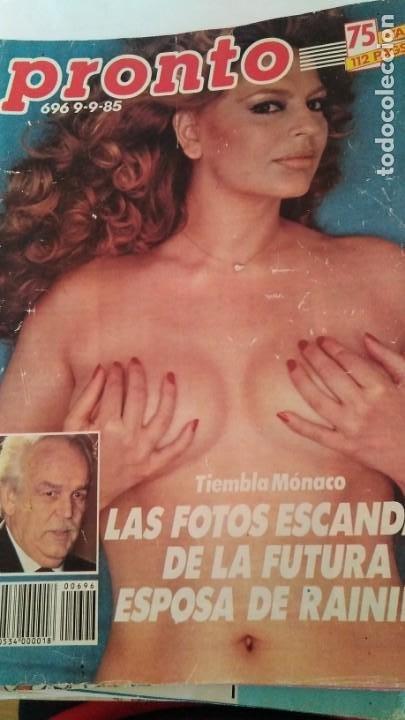 REVISTA PRONTO 696 EL NANI, LOLA FLORES, SMILJA MIHAILOVICH, RIVERITA AÑO 1985 (Papel - Revistas y Periódicos Modernos (a partir de 1.940) - Revista Pronto)