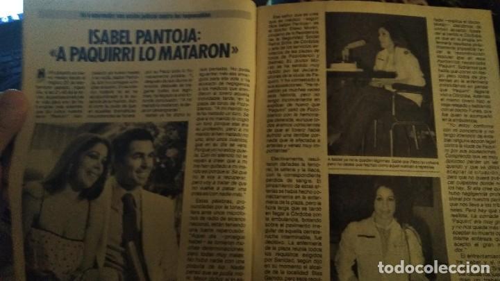 Coleccionismo de Revista Pronto: REVISTA PRONTO 687 ISABEL PANTOJA Y PAQUIRRI, CHIQUETETE, SERIE FALCON CREST 1985 - Foto 3 - 183530180