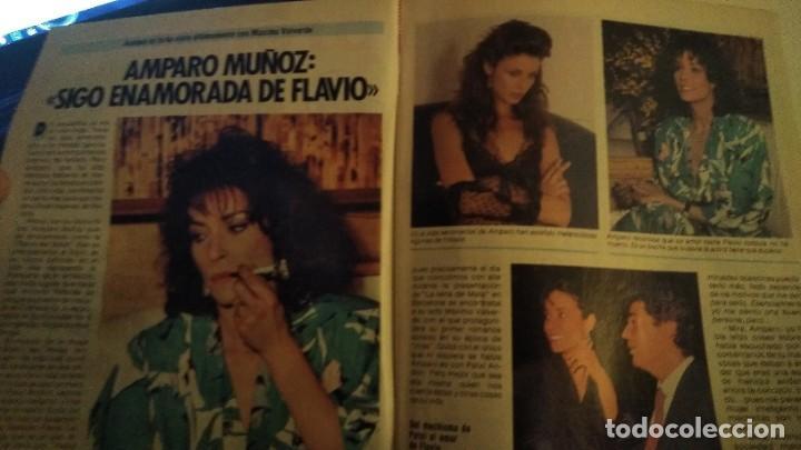 Coleccionismo de Revista Pronto: REVISTA PRONTO 679 AÑO 1985 CHIQUETETE, ROCÍO JURADO, PALOMA SAN BASILIO EUROVISIÓN - Foto 3 - 190013421