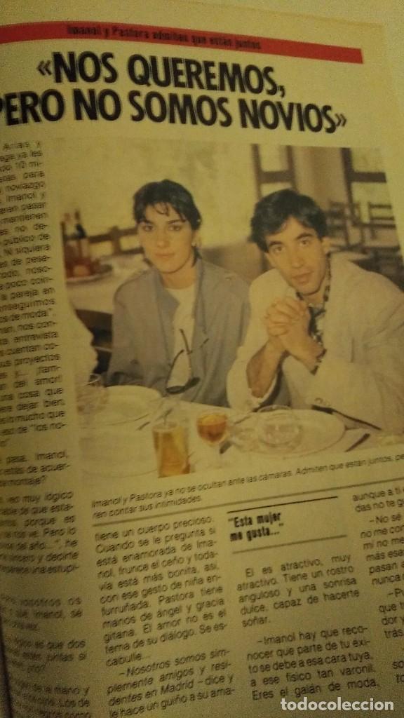 Coleccionismo de Revista Pronto: REVISTA PRONTO 679 AÑO 1985 CHIQUETETE, ROCÍO JURADO, PALOMA SAN BASILIO EUROVISIÓN - Foto 4 - 190013421