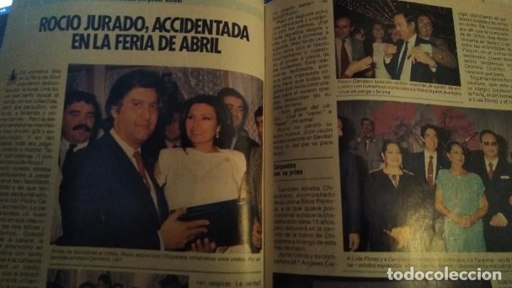 Coleccionismo de Revista Pronto: REVISTA PRONTO 679 AÑO 1985 CHIQUETETE, ROCÍO JURADO, PALOMA SAN BASILIO EUROVISIÓN - Foto 6 - 190013421