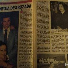 Coleccionismo de Revista Pronto: REVISTA PRONTO 698 PORTADA ISABEL PANTOJA, ESTRENO LOS FRAGUEL, LOLITA AÑO 1985. Lote 190014476