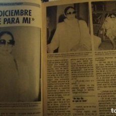 Coleccionismo de Revista Pronto: REVISTA PRONTO 707 ISABEL PANTOJA, CHARO LÓPEZ, MANOLO ESCOBAR AÑO 1985. Lote 190015148