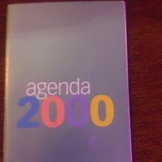 Coleccionismo de Revista Pronto: AGENDA 2000 - REVISTA PRONTO - PUBLICIDAD. Lote 190095232