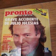 Coleccionismo de Revista Pronto: PRONTO 1984. Lote 191046245