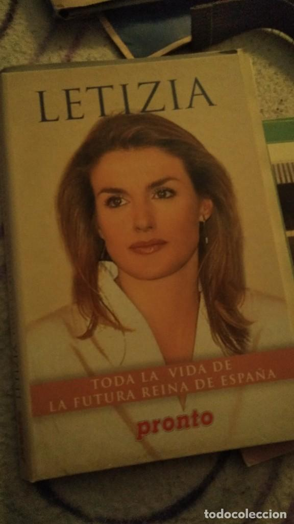 BIOGRAFÍA REINA LETIZIA ORTIZ REVISTA PRONTO (Papel - Revistas y Periódicos Modernos (a partir de 1.940) - Revista Pronto)
