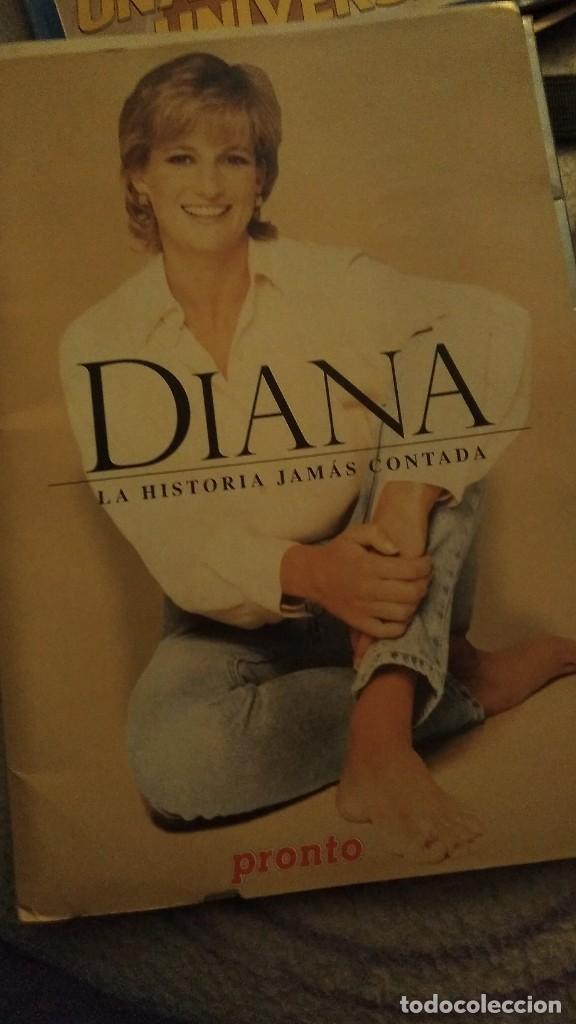 Coleccionismo de Revista Pronto: IMPRESIONANTE COLECCIONABLE LADY DI, DIANA SU VERDADERA HISTORIA REVISTA PRONTO AÑO 1997 - Foto 2 - 191426377
