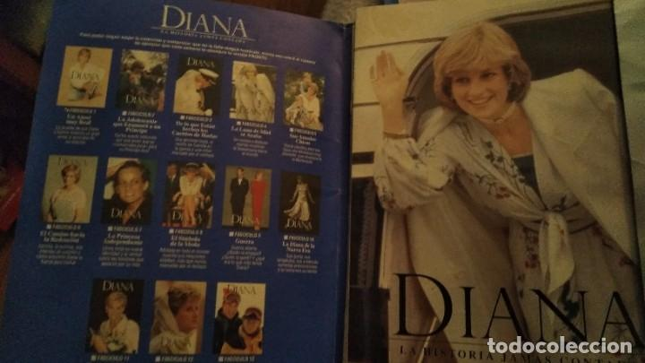 Coleccionismo de Revista Pronto: IMPRESIONANTE COLECCIONABLE LADY DI, DIANA SU VERDADERA HISTORIA REVISTA PRONTO AÑO 1997 - Foto 3 - 191426377