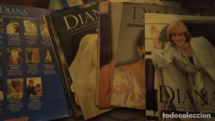 Coleccionismo de Revista Pronto: IMPRESIONANTE COLECCIONABLE LADY DI, DIANA SU VERDADERA HISTORIA REVISTA PRONTO AÑO 1997 - Foto 4 - 191426377