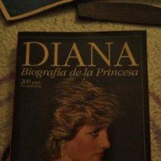 Coleccionismo de Revista Pronto: BIOGRAFÍA LADY DI REVISTA PRONTO. Lote 191426390