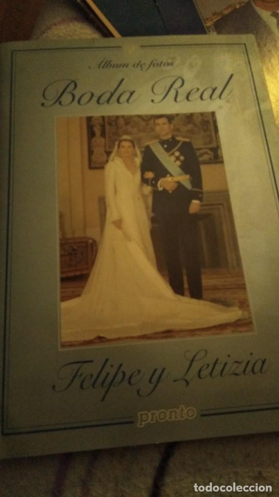 Coleccionismo de Revista Pronto: REVISTA PRONTO EXTRA BODA REAL FELIPE DE BORBÓN Y LETIZIA ORTIZ AÑO 2004 - Foto 3 - 191426455