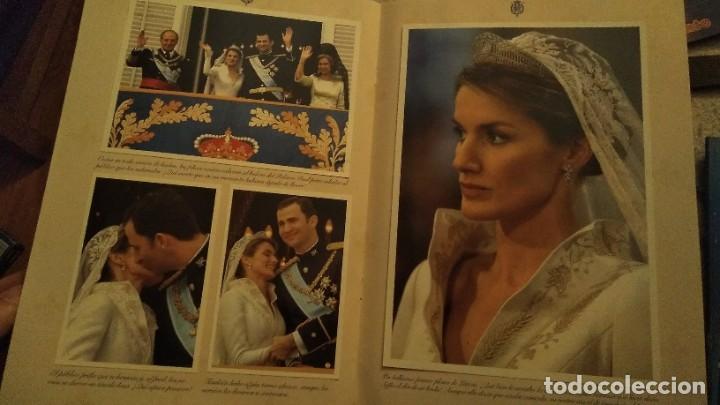 Coleccionismo de Revista Pronto: REVISTA PRONTO EXTRA BODA REAL FELIPE DE BORBÓN Y LETIZIA ORTIZ AÑO 2004 - Foto 4 - 191426455