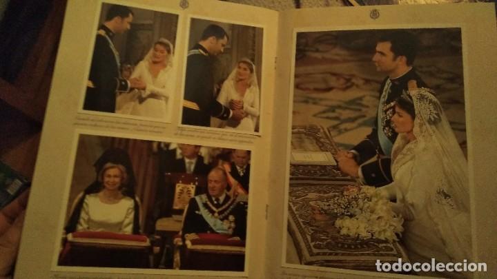 Coleccionismo de Revista Pronto: REVISTA PRONTO EXTRA BODA REAL FELIPE DE BORBÓN Y LETIZIA ORTIZ AÑO 2004 - Foto 5 - 191426455