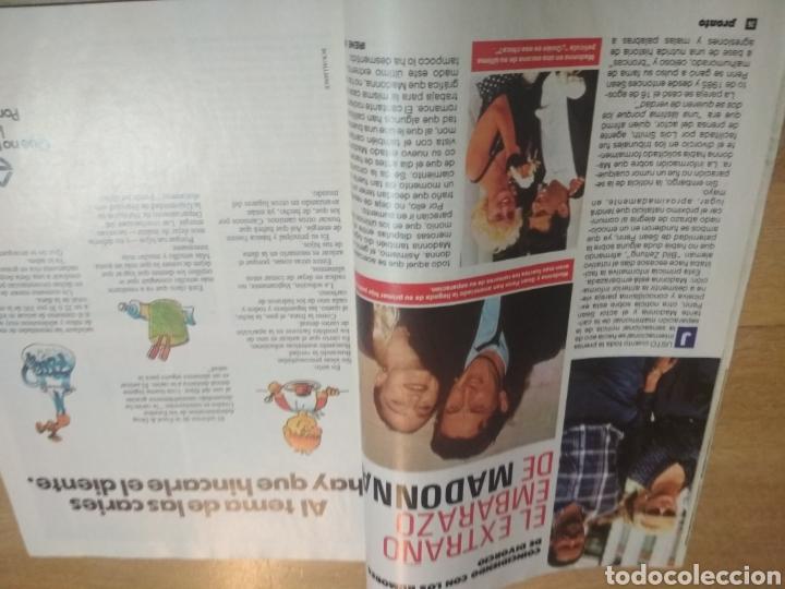 Coleccionismo de Revista Pronto: Revista Pronto 814 Madonna Lydia Bosch Ana Obregón Sara Montiel Don Johnson - Foto 2 - 193450856