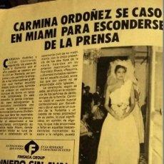 Coleccionismo de Revista Pronto: REVISTA PRONTO 623 AÑO 1984 OLÉ OLÉ VICKY LARRAZ, MICHAEL JACKSON THRILLER, ROCÍO DÚRCAL . Lote 194254367