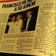 Coleccionismo de Revista Pronto: REVISTA PRONTO 684 AÑO 1985 CARMINA ORDÓÑEZ, BODAS SOLTEROS PLAN, PAJARES, CANTANTE FRANCISCO. Lote 194354531