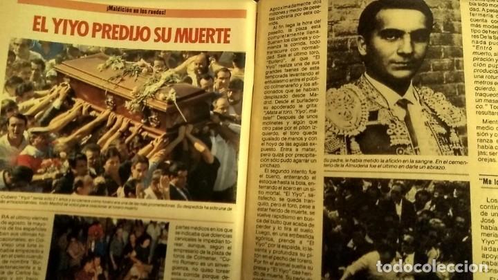 REVISTA PRONTO 697 AÑO 1985 SARA MONTIEL, IMANOL ARIAS Y PASTORA VEGA, RIVERITA, TITANIC (Papel - Revistas y Periódicos Modernos (a partir de 1.940) - Revista Pronto)