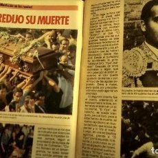 Coleccionismo de Revista Pronto: REVISTA PRONTO 697 AÑO 1985 SARA MONTIEL, IMANOL ARIAS Y PASTORA VEGA, RIVERITA, TITANIC. Lote 194354607