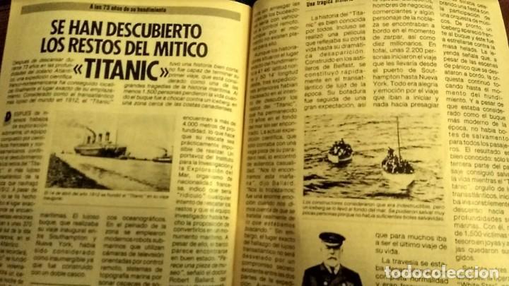 Coleccionismo de Revista Pronto: REVISTA PRONTO 697 AÑO 1985 SARA MONTIEL, IMANOL ARIAS Y PASTORA VEGA, RIVERITA, TITANIC - Foto 3 - 194354607