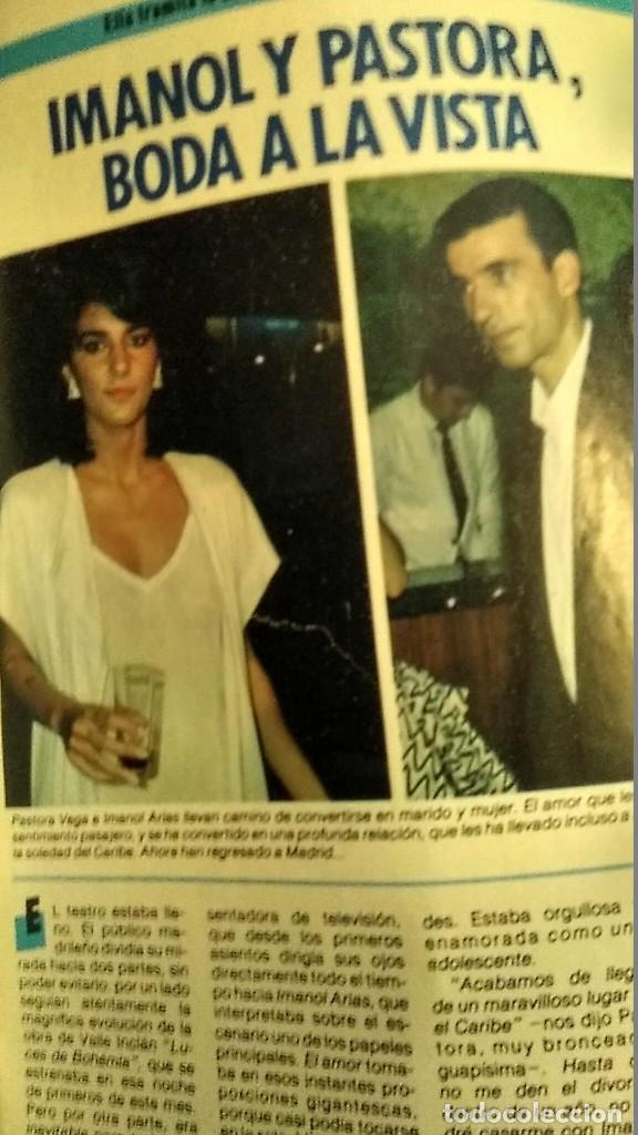 Coleccionismo de Revista Pronto: REVISTA PRONTO 697 AÑO 1985 SARA MONTIEL, IMANOL ARIAS Y PASTORA VEGA, RIVERITA, TITANIC - Foto 6 - 194354607