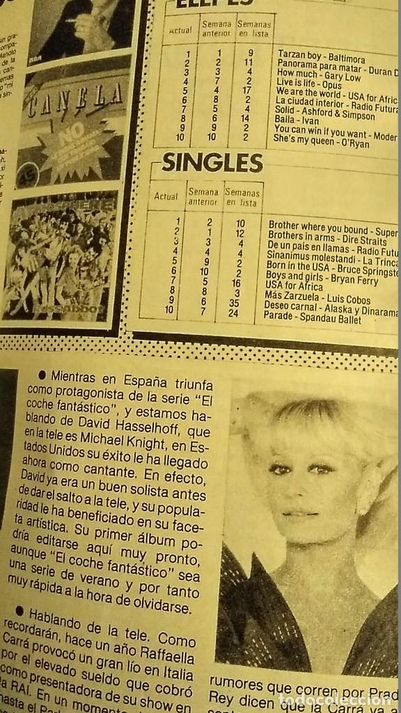 Coleccionismo de Revista Pronto: REVISTA PRONTO 697 AÑO 1985 SARA MONTIEL, IMANOL ARIAS Y PASTORA VEGA, RIVERITA, TITANIC - Foto 7 - 194354607