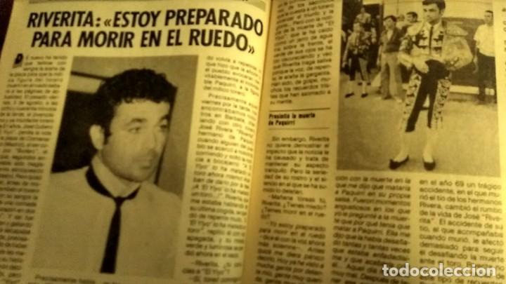 Coleccionismo de Revista Pronto: REVISTA PRONTO 697 AÑO 1985 SARA MONTIEL, IMANOL ARIAS Y PASTORA VEGA, RIVERITA, TITANIC - Foto 8 - 194354607