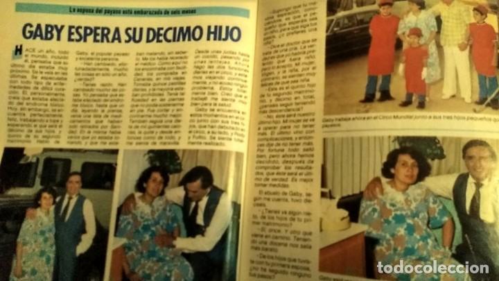 Coleccionismo de Revista Pronto: REVISTA PRONTO 697 AÑO 1985 SARA MONTIEL, IMANOL ARIAS Y PASTORA VEGA, RIVERITA, TITANIC - Foto 9 - 194354607