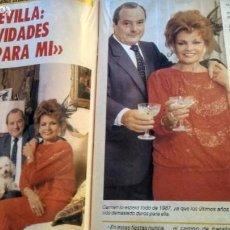 Coleccionismo de Revista Pronto: REVISTA PRONTO 763 AÑO 1986 ANA BELÉN, ROBERT REDFORD, SERGIO Y ESTÍBALIZ, RAPPEL, CHARLTON HESTON. Lote 194542190