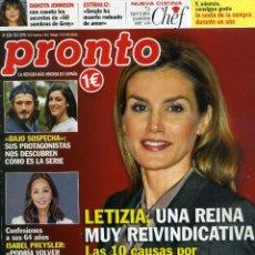 Coleccionismo de Revista Pronto: PRONTO Nº 2234 - 28 FEBRERO 2015. Lote 194547961