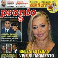 Coleccionismo de Revista Pronto: PRONTO Nº 2235 - 7 MARZO 2015. Lote 194548006