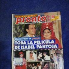 Coleccionismo de Revista Pronto: REVISTA. PRONTO. NUMERO 953. Lote 194652593