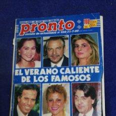 Coleccionismo de Revista Pronto: REVISTA. PRONTO. NUMERO 950. Lote 194663855