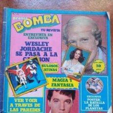 Coleccionismo de Revista Pronto: REVISTA BOMBA NUM 21. Lote 194701538