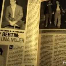 Coleccionismo de Revista Pronto: REVISTA PRONTO 843 AÑO 1988 BERTÍN OSBORNE, SERRAT, MUERE PEDRITO RICO, MARY SANTPERE, NIÑO CAPEA. Lote 194742612