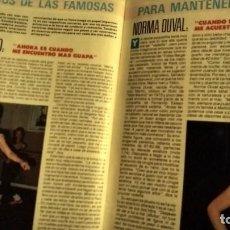 Coleccionismo de Revista Pronto: REVISTA PRONTO 844 AÑO 1988 ANA ANGUITA, COLECCIONABLE PAUL NEWMAN, DULCE NEUS, ALASKA. Lote 194742668