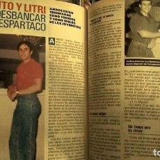 Coleccionismo de Revista Pronto: REVISTA PRONTO 854 AÑO 1988 MARUJITA DÍAZ, EL LITRI Y JOSELITO, MIGUEL BOSÉ. Lote 194742832