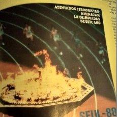 Coleccionismo de Revista Pronto: REVISTA PRONTO 855 AÑO 1988 JULIOIGLESIAS, EL NANI, JUEGOS OLÍMPICOS SEÚL 88, PALOMA HURTADO TACAÑON. Lote 194742863