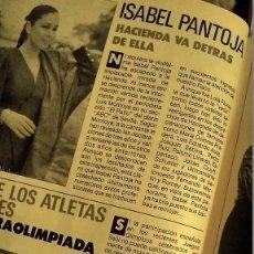 Coleccionismo de Revista Pronto: REVISTA PRONTO 862 AÑO 1988 ANUNCIO NOCILLA FRESA Y TOSTA RICA, ISABEL PANTOJA, SILVIA PANTOJA. Lote 194742926