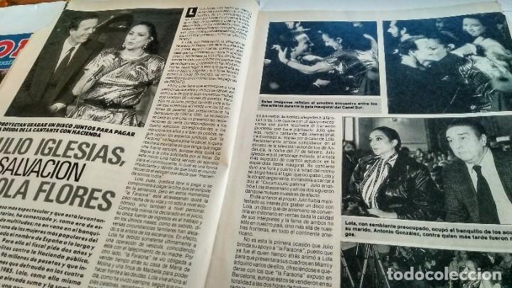 Coleccionismo de Revista Pronto: REVISTA PRONTO 881 LOLA FLORES, JULIO IGLESIAS, PILAR MIRÓ, EUGENIO, GORILAS EN LA NIEBLA - Foto 3 - 194901371